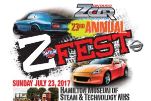 Z Fest Sunday Car Show @ Hamilton Museum of Steam & Technology | Hamilton | Ontario | Canada