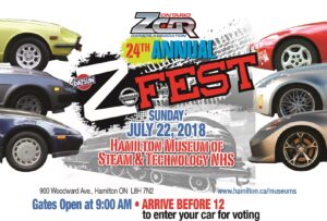 2018 OZC Z-Fest @  Hamilton Museum of Steam & Technology NHS | Hamilton | Ontario | Canada