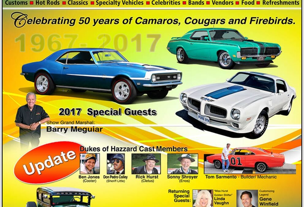 Steve Plunkett's Fleetwood County Cruise 2017