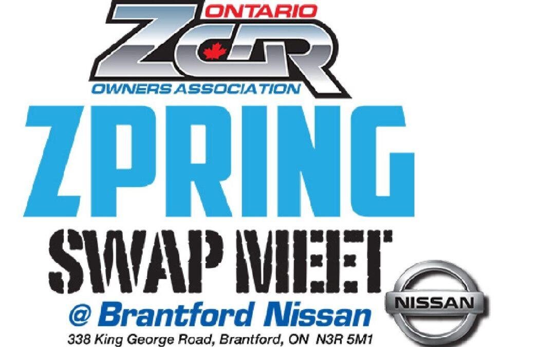 OZC Spring Swap Meet 2018 at Brantford Nissan