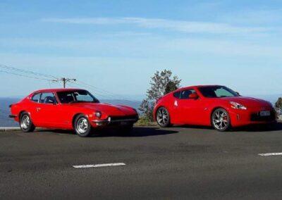#1041 – 1977 Datsun 260Z and 2017 Nissan 370Z