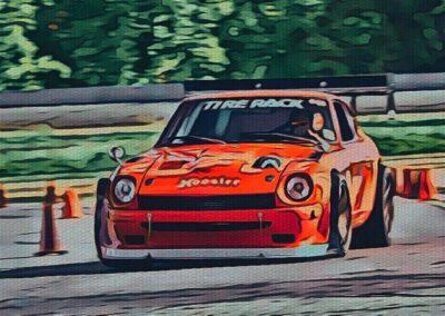 3rd Place #3009 – 1972 Datsun 240Z